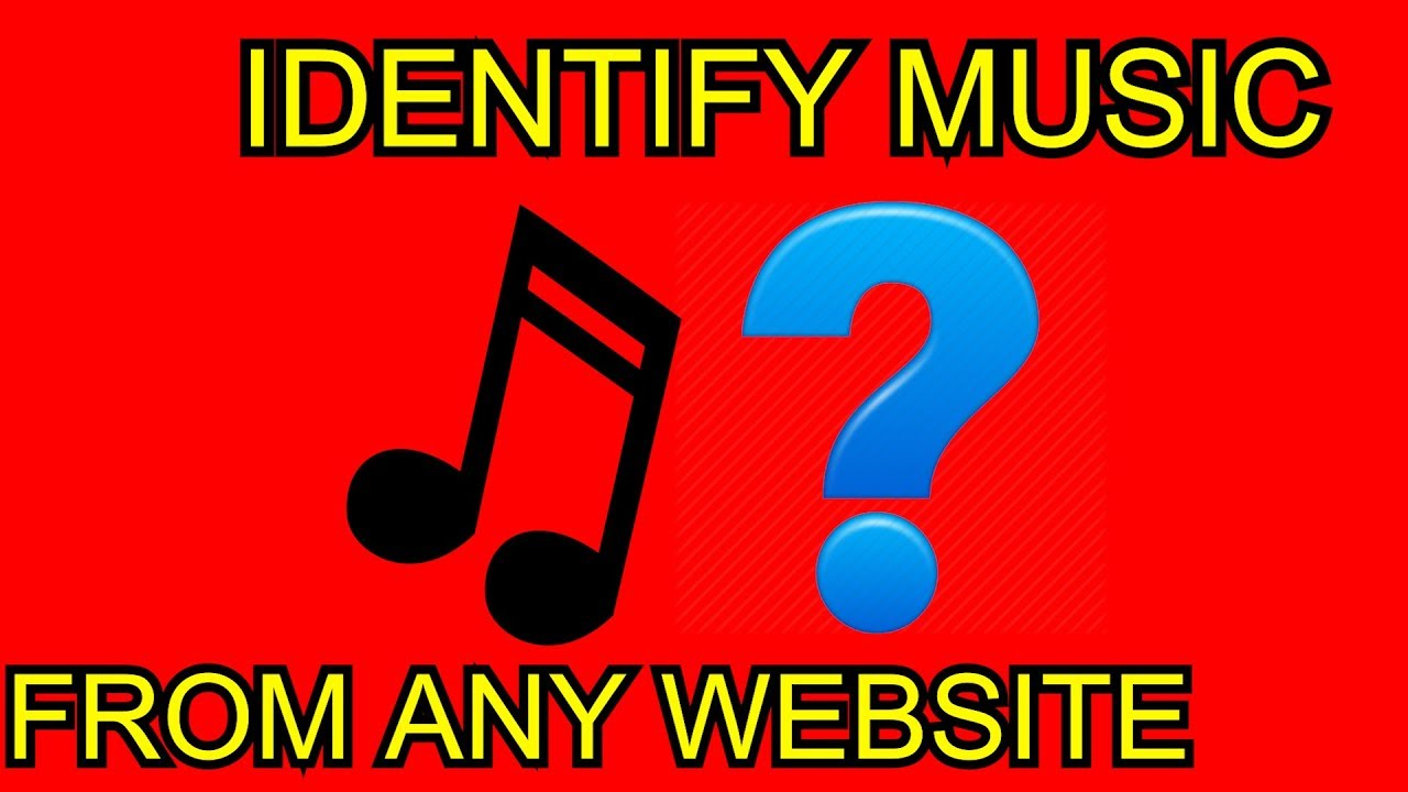 Detect youtube background music