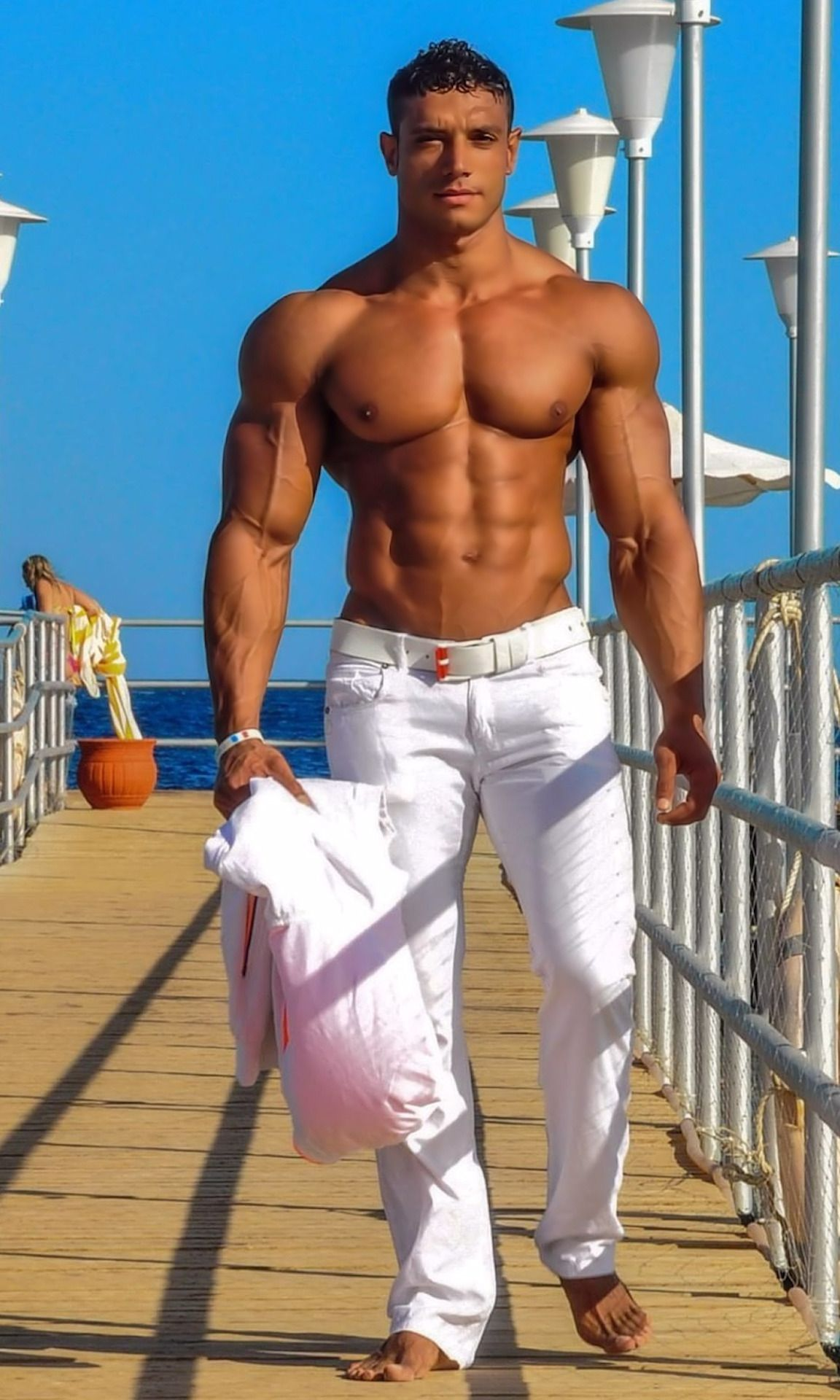 Sexy latino men with muscles