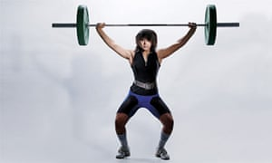 Nude teenage girls weightlifting competetions