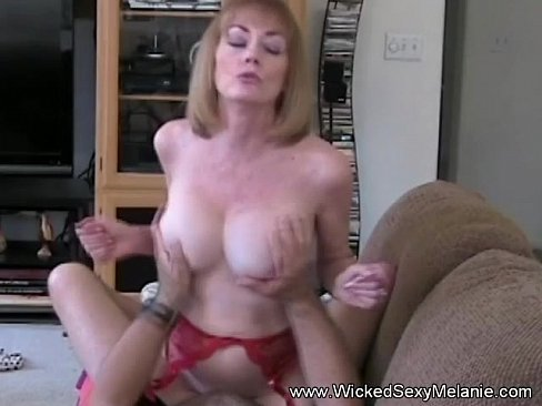 Mother rides sons cock
