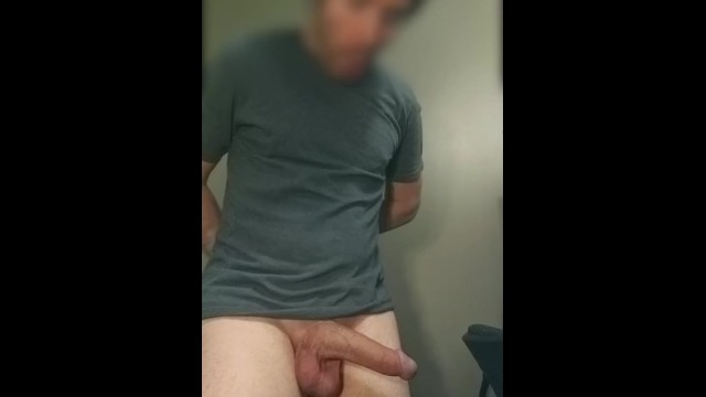 Amature accidental dick slip out of shorts