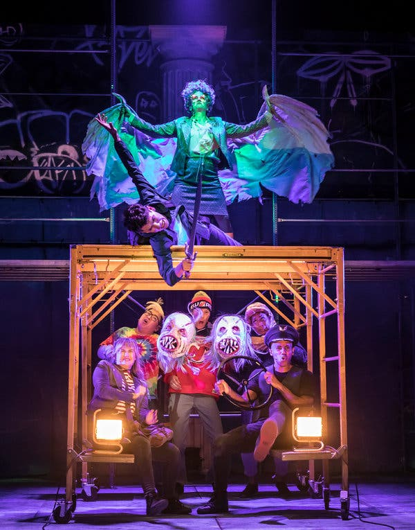The lightning thief musical review new york times