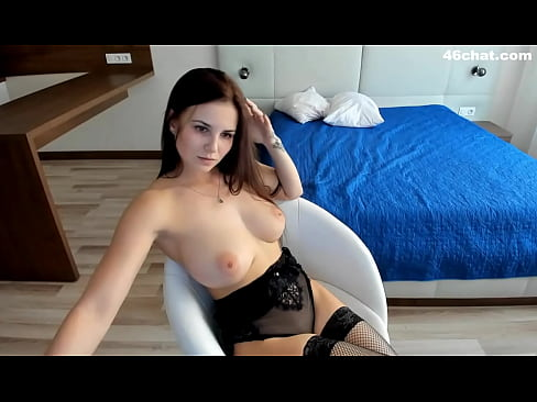 Big tits in bed
