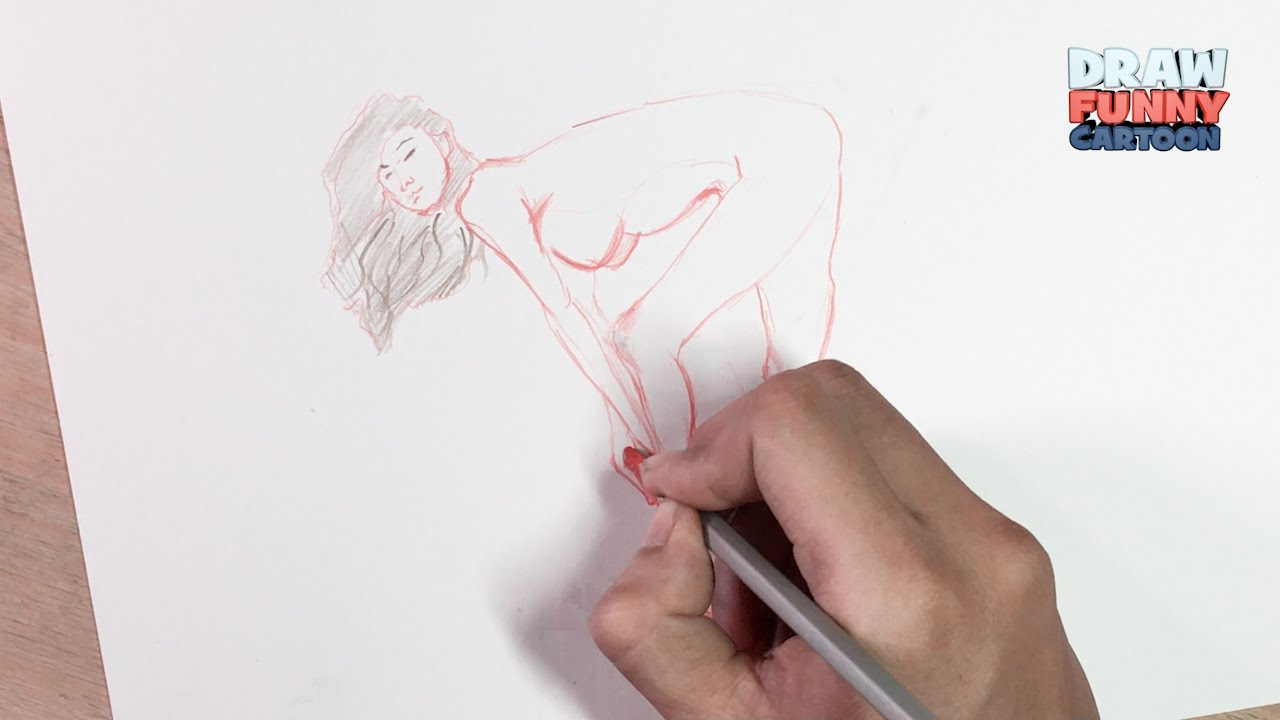 How to draw nude anime girls