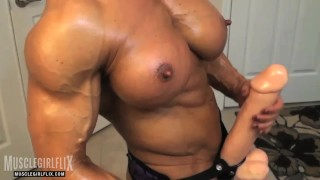 Muscle girl porn