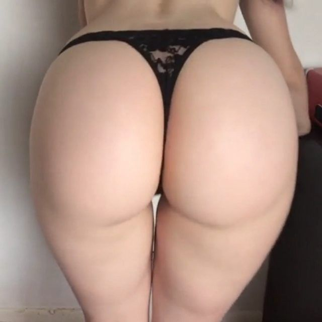 White very big butts