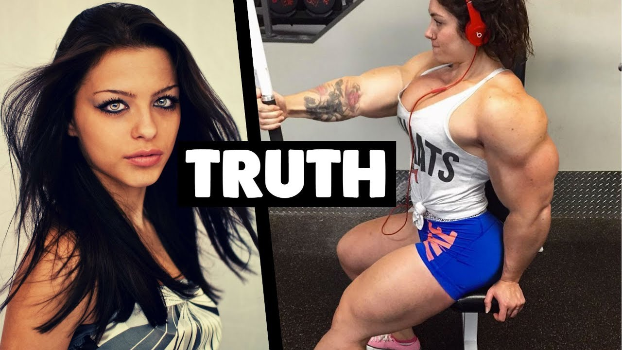 Young girls on steroids